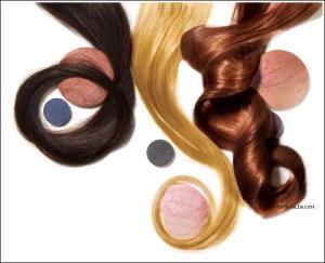 blonde brunette redhead