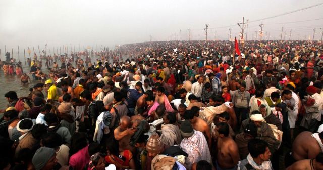 Indian Hindu Pilgrims