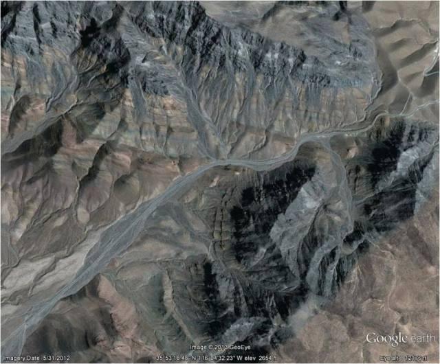 Emigrant Pass Aerial Photo