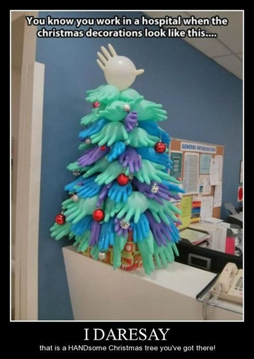 Hospital Christmas Tree