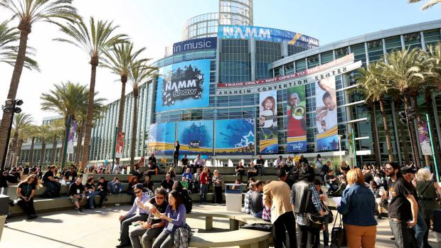 Namm outside