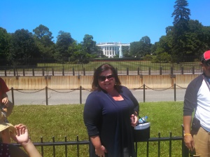 Amy on South Lawn