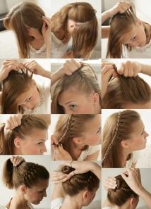 braided hairdo