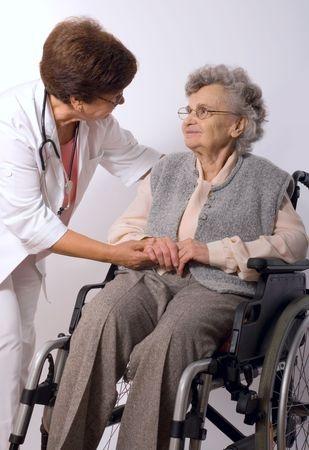 wheelchair patient