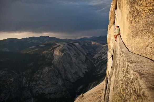 Sitting Around in Yosemite