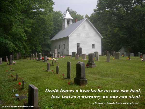 death-heartache