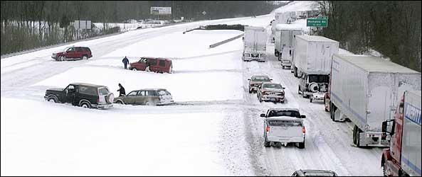 Indiana snow storm