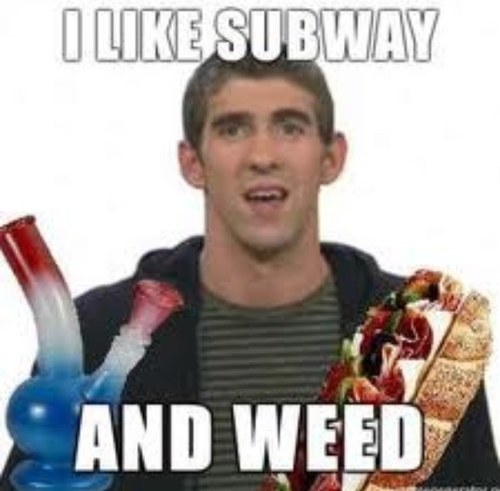 subway and weed
