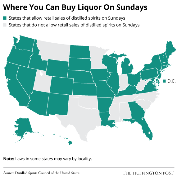 Sunday Liquor Sales