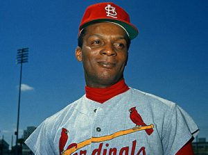 St. Louis Cardinals outfielder Curt Flood is shown, March 1968. (AP Photo)   Original Filename: AP10031807428.jpgvia Flatbed 1