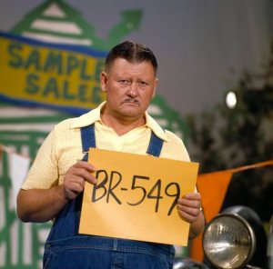 """Hee Haw"" Junior Samples circa 1980 © 1980 Marv Newton"