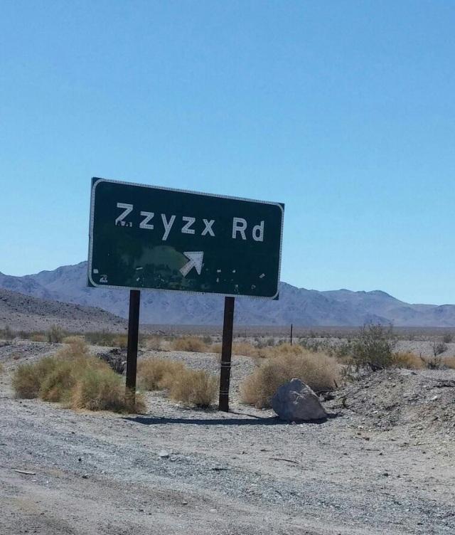 Zxyzx Road
