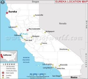 EUREKA Map