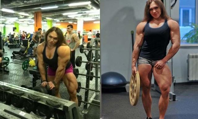 Russian weighlifter