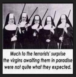 Hasil gambar untuk nuns with guns