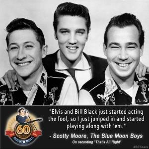 Scotty Elvis Bill Black